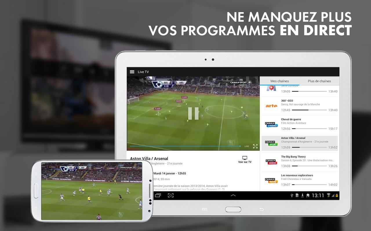 myCANAL Réunion, par CANAL+- screenshot