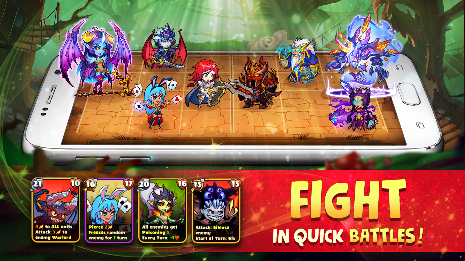 Mighty Party: Heroes Clash- screenshot