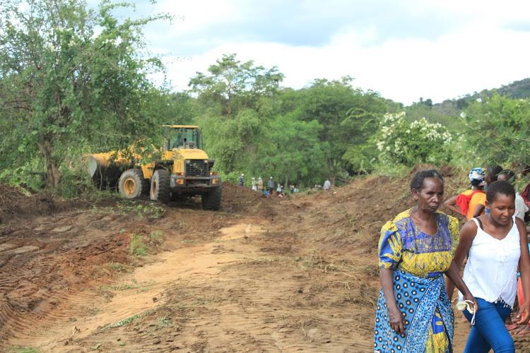 Road in Kiomo, Mwingi