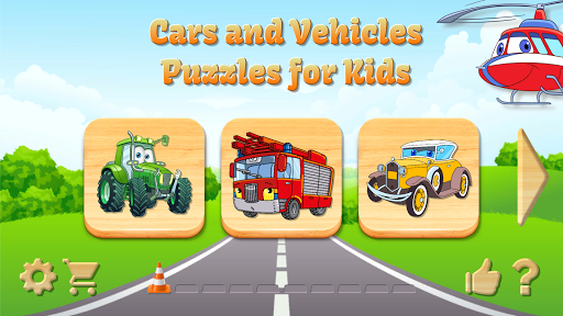 Car Puzzles for Toddlers screenshot 21