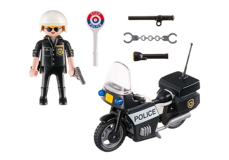 Contenido real de Playmobil® 5648 Maletín de Policía