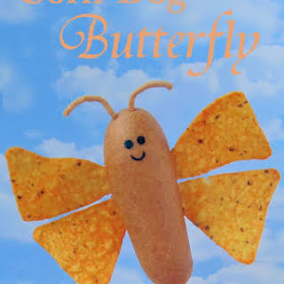 Corn Dog Butterfly.