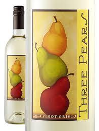 Logo for Three Pears Pinot Grigio