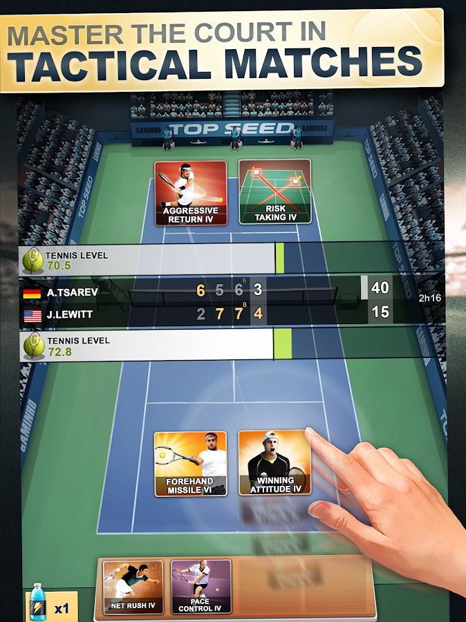 TOP SEED Tennis: Sports Management & Strategy Game- screenshot