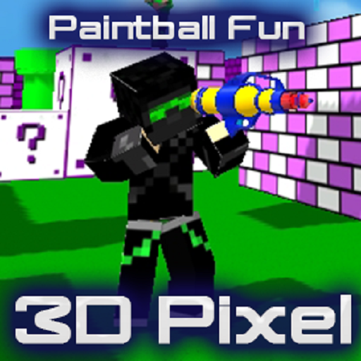 Paintball Fun 3D Pixel Online 動作 App LOGO-APP開箱王