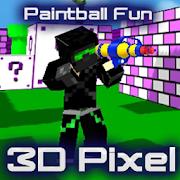 Paintball Fun 3D Pixel Online