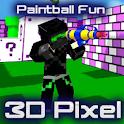 Paintball Fun 3D Pixel Online icon