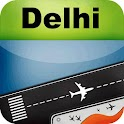 New Delhi Airport + Radar DEL icon