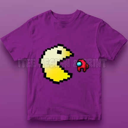 Pac-Man Game Among Us Impostor 11