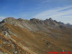 Photo: IMG_4371 la cresta dove corre il Bepi Zac,  dalla Cresta dei Monzoni