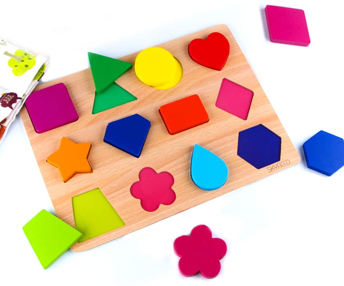 shapes puzzle and shape sorter for toddlers on amazon
