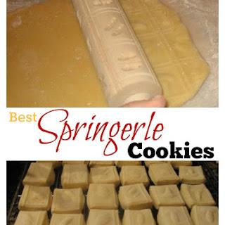 Best Springerle Cookie Recipe - German Anise Cookies