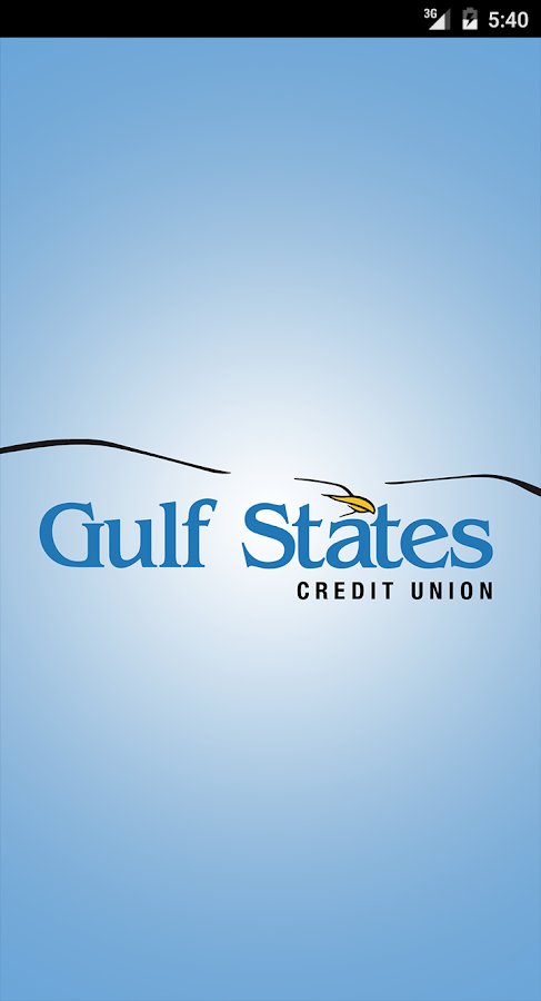 Gulf States Credit Union- screenshot