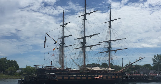 Oliver Hazard Perry Tall Ship at Portsmouth Sail Fest