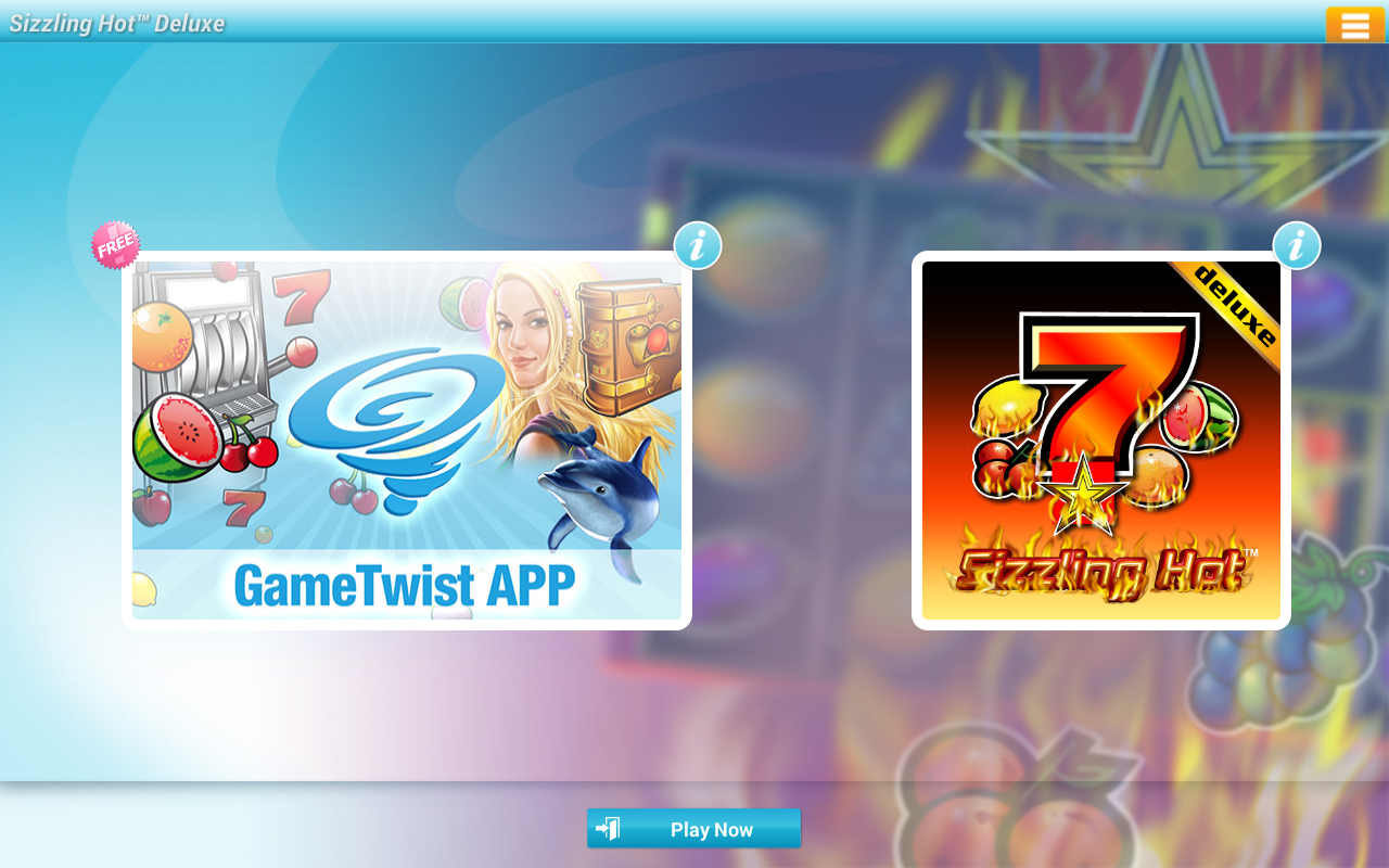 Sizzling Hot™ Deluxe Slot - screenshot