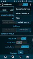 Screenshot of PCB Blue ⁞ CM12 Theme