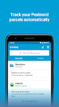 screenshot of PostNord - Track and send parcels