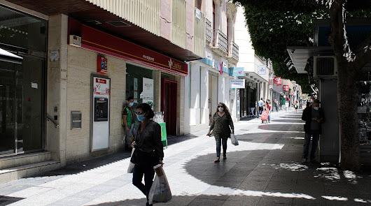 La incidencia de Almería capital es hoy de 61,1 casos por cada 100.000 habitantes en 14 días.