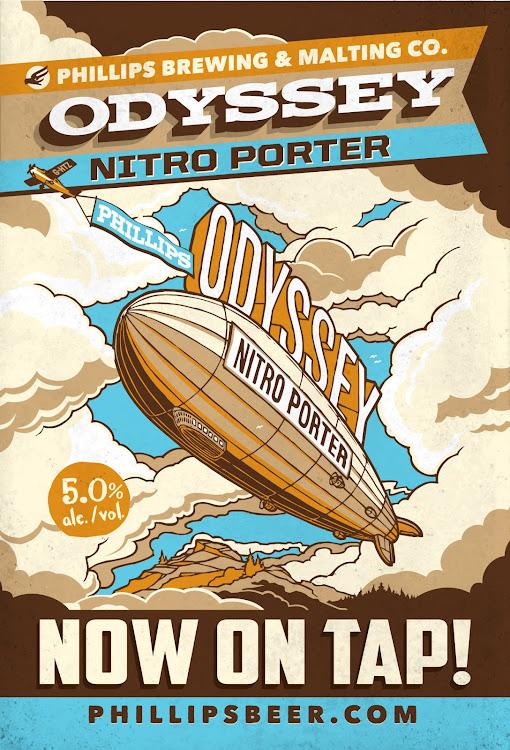 Logo of Phillips Oddysey Nitro Porter