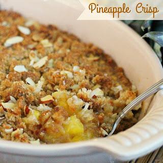Pineapple Crisp Oatmeal Recipes