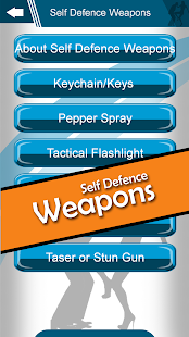 Perfect Self Defence app Screenshot