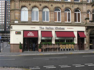 The Italian Kitchen On Ingram Street Restaurant Italian In City