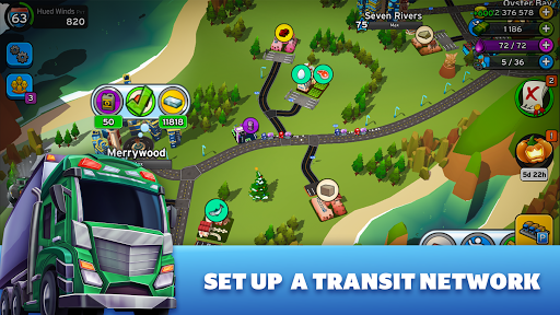 Transit King Tycoon - City Tycoon Game screenshots 1