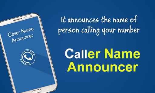 True Caller Name Announcer