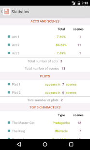 Story Planner for Writers- screenshot thumbnail