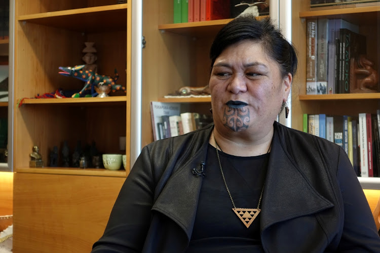 New Zealand's Foreign Minister Nanaia Mahuta speaks during an interview in Wellington, New Zealand on December 15 2020. Picture: REUTERS/JONATHON MOLLOY