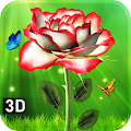 White Rose Live Wallpaper 3D 2019 APK