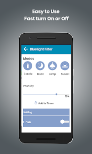 Blue Light Filter - Night Mode, Eye Protector for PC-Windows 7,8,10 and Mac apk screenshot 2