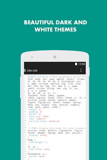 Turbo Editor // Text Editor 2.4 Screenshots 4