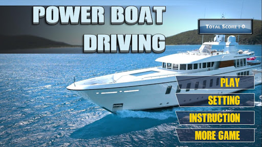 Power Boat Driving