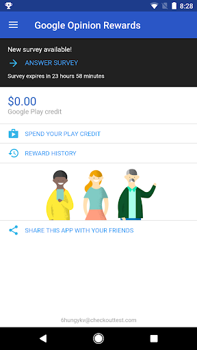 Google Opinion Rewards for PC