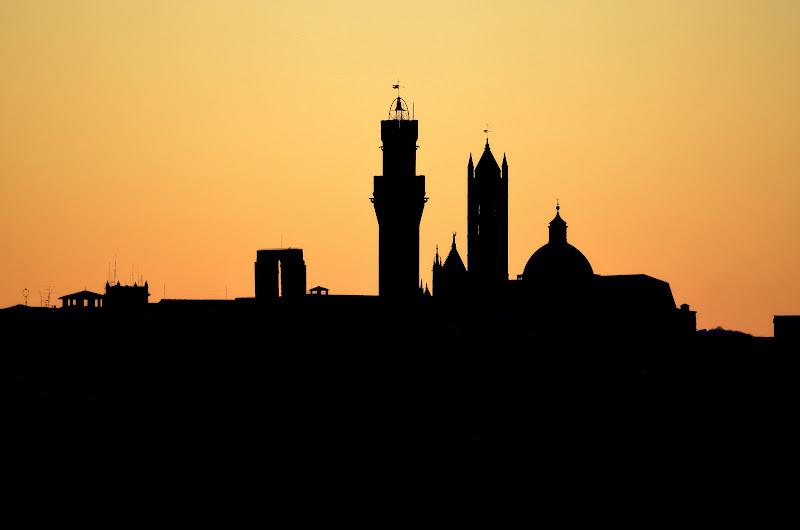 Siena al tramonto di michele_prugnoli