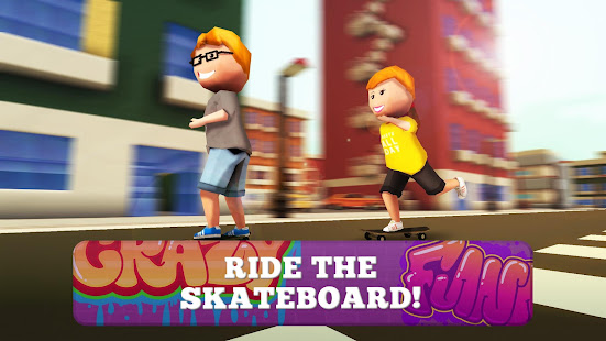Skate Craft Pro Skater in City v1.1 APK Full