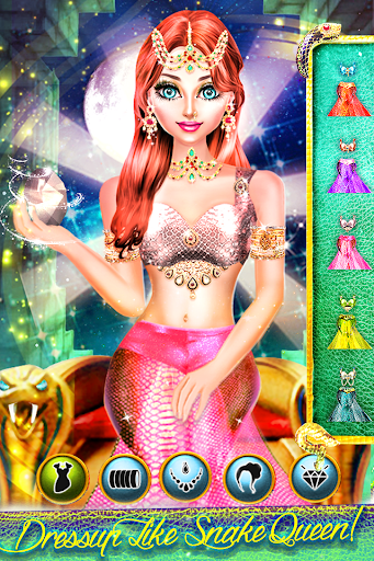 Snake Girl Salon - Naagin Magical Adventure Game filehippodl screenshot 3