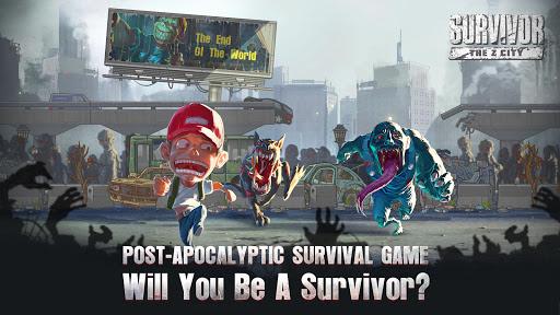 Télécharger Survivor : The Z City APK MOD (Astuce) screenshots 1