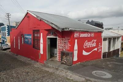 Bunte Häuser im Viertel Bo-Kaap
