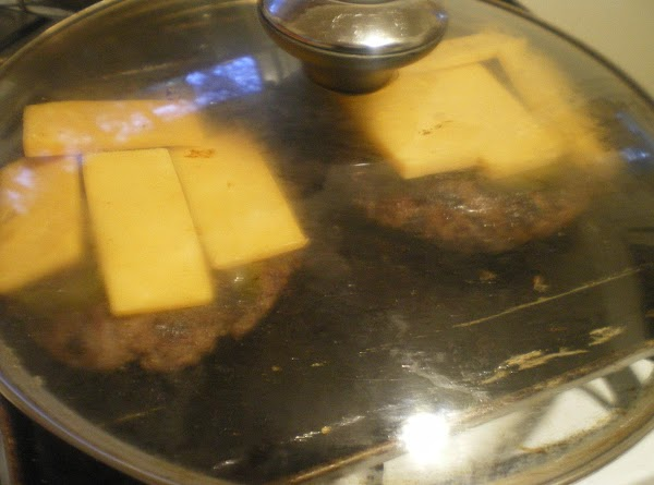 Bring them bad boys in and top with jalapeno slices and cheese.  Cover...