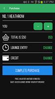 Screenshot of LoungeBuddy