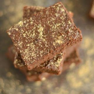 Sugar Free Ginger Cocoa Brownies {GF, Low Cal, Paleo}