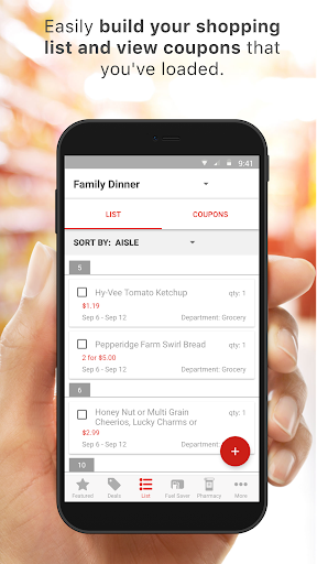 Screenshot for Hy-Vee – Coupons, Deals & more in United States Play Store