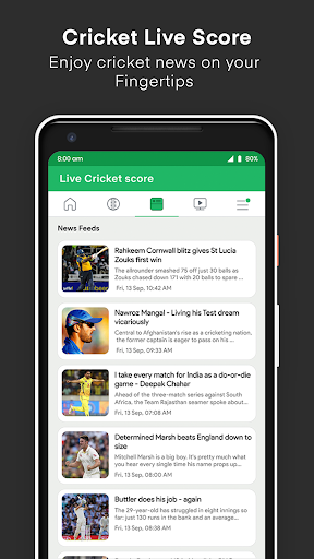 Live Cricket Score screenshot 21