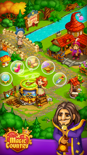Magic City: fairy farm and fairytale country for Android apk 2