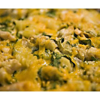 Spinach Cheese Casserole.