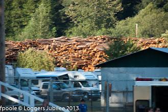 Photo: Logger's Jubilee at Morton, WA camping at Taidnapam Park