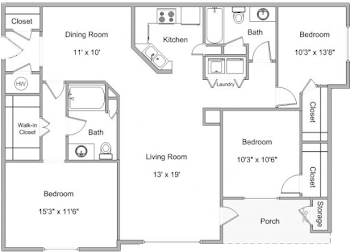 Go to Elder Floorplan page.