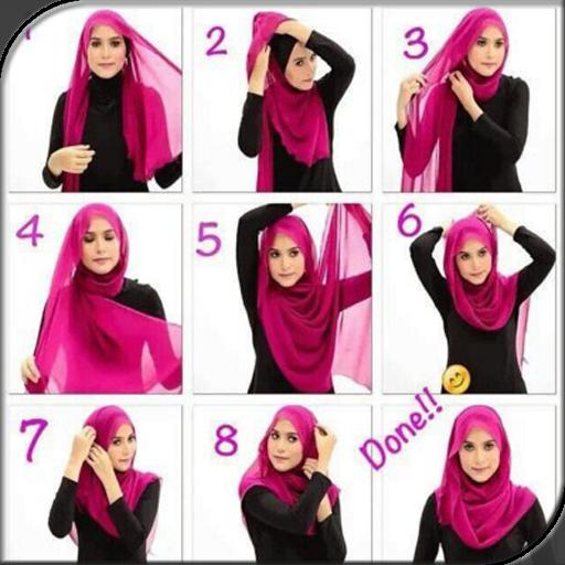 Hijab Tutorial Newest Style